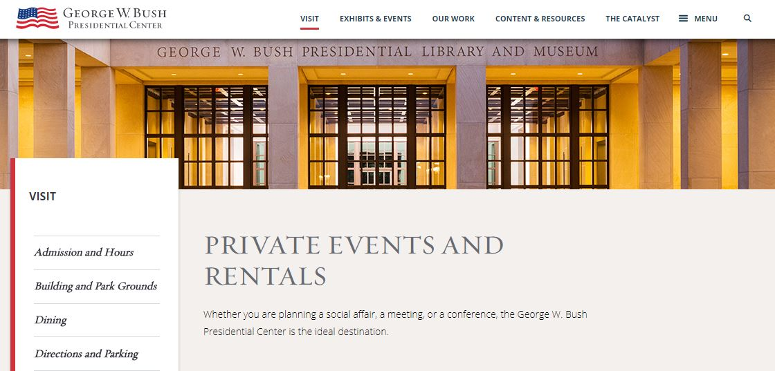 The George W. Bush Presidential Center