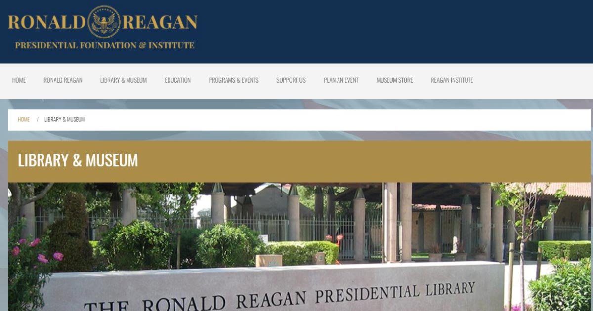 Ronald Reagan Presidential Library & Museum