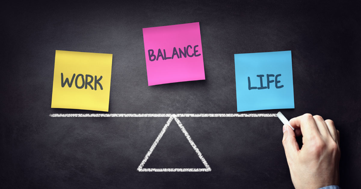 From Work-Life Balance to Work-Life Blending