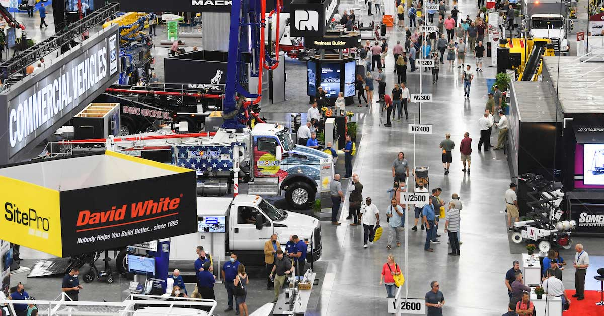 World of Concrete and Large-scale Trade Shows Return to Las Vegas