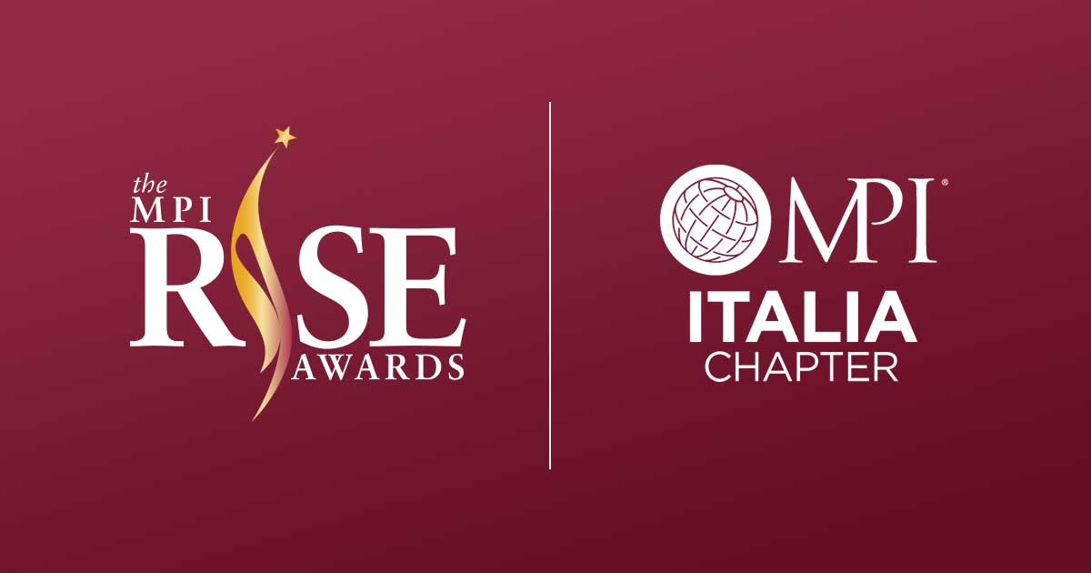 MPI RISE Awards: Italia Chapter, Industry Advocate