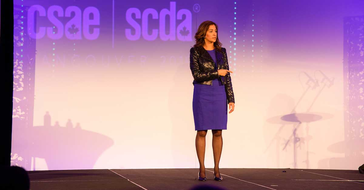 IMEX America keynote speaker on the importance of down time