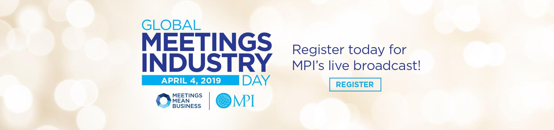 Global Meetings Industry Day