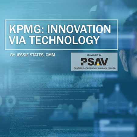 KPMG Case Study, Sponsored by PSAV