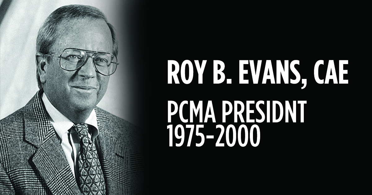 Roy B. Evans, Jr., Influential Former PCMA Head, Dies