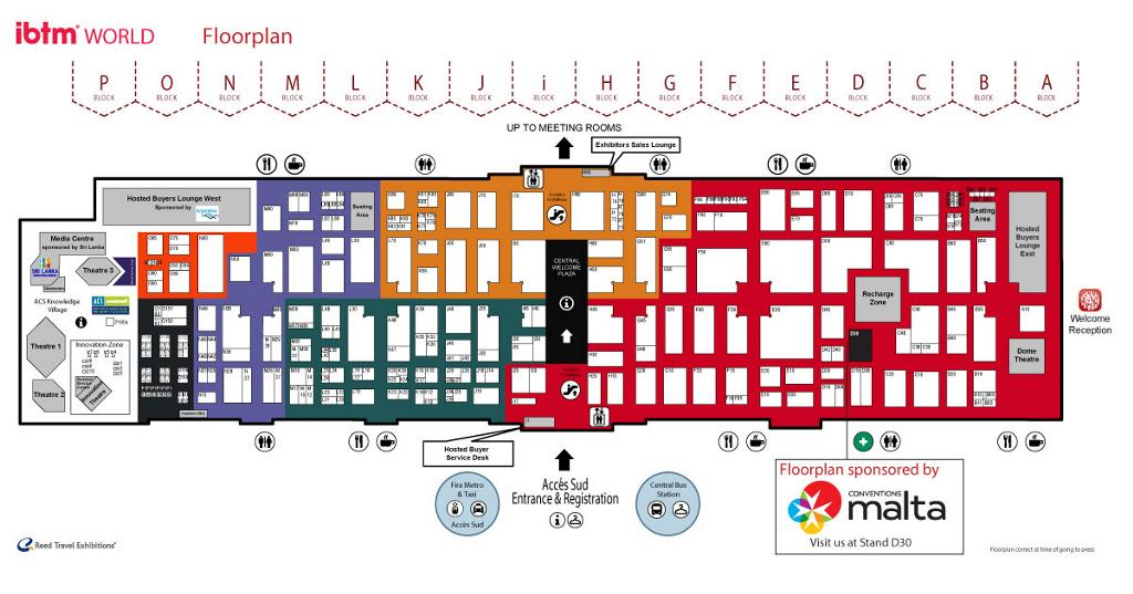 IBTM-WORLD Floor Plan