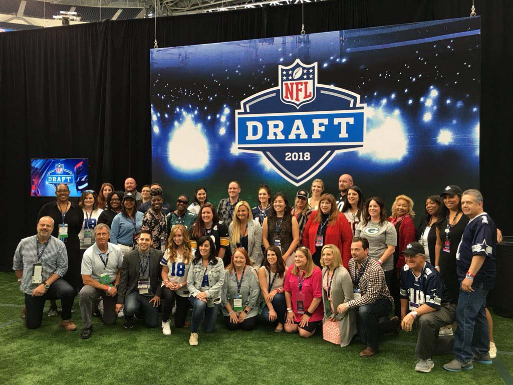 NFL Draft 2018 Experiential Event | MPI