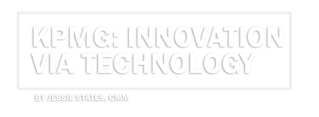 KPMG: Innovation Via Technology