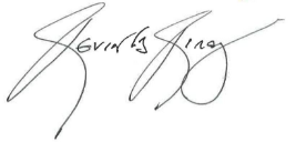 Kevin Kirby Signature
