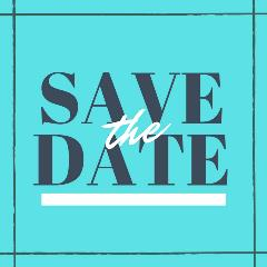 Simple Save the Date Invitation