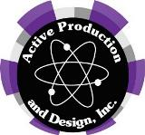 Active Production & Design Logo