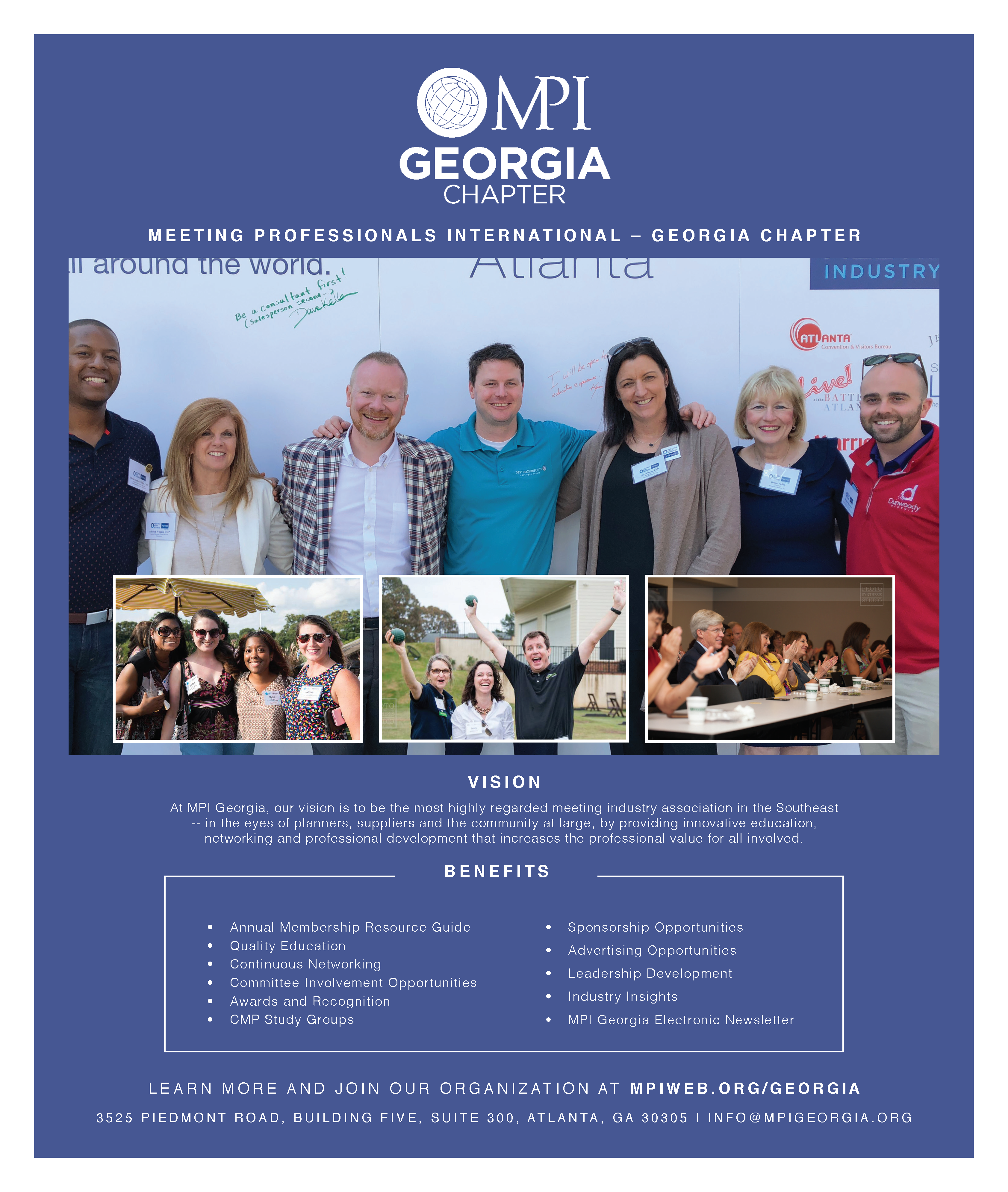 MPI Georgia Modern Luxury Membership Graphic