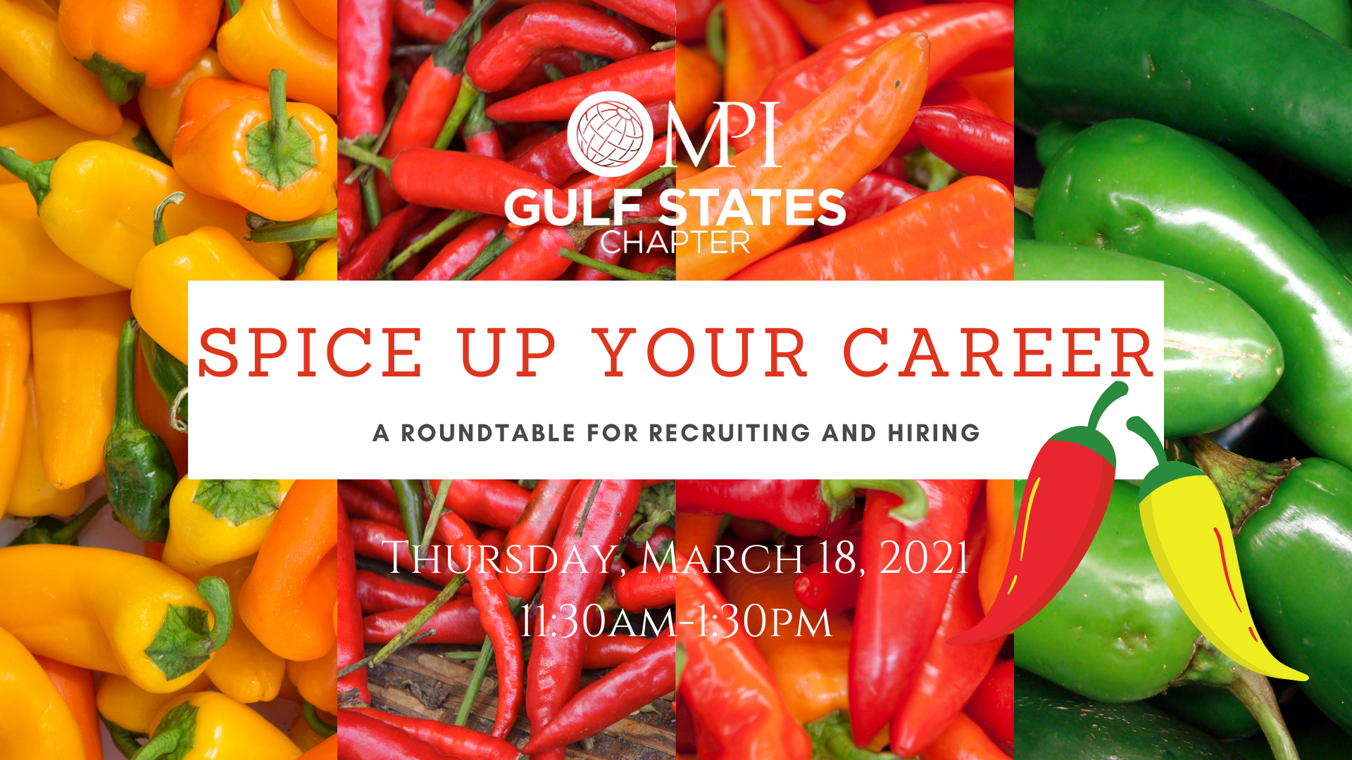 March Education Save the Date SPICE UP YOUR CAREER