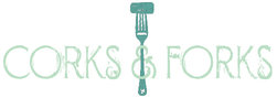 Corks and forks logo cropped