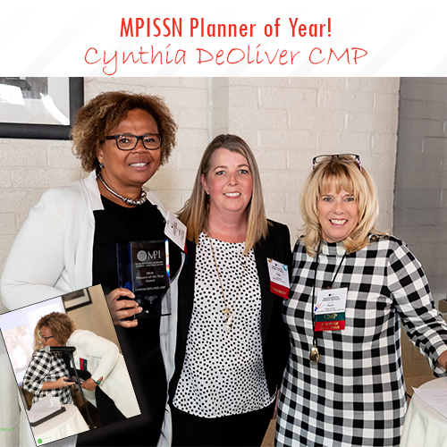 Cynthia Planner of the Year