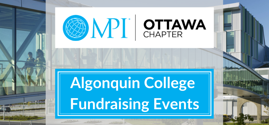 Algonquin College Fundraising Events Banner