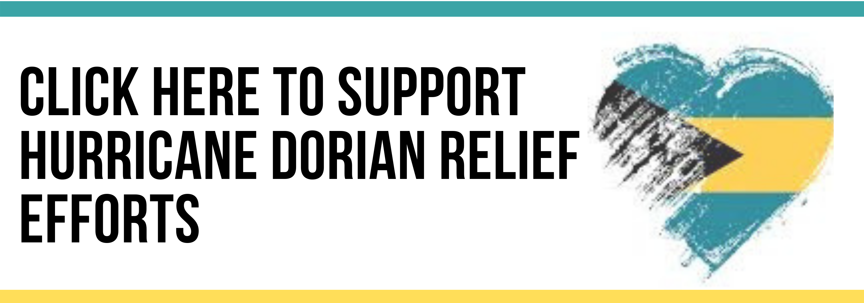 Click here to support hurricane Dorian relief efforts