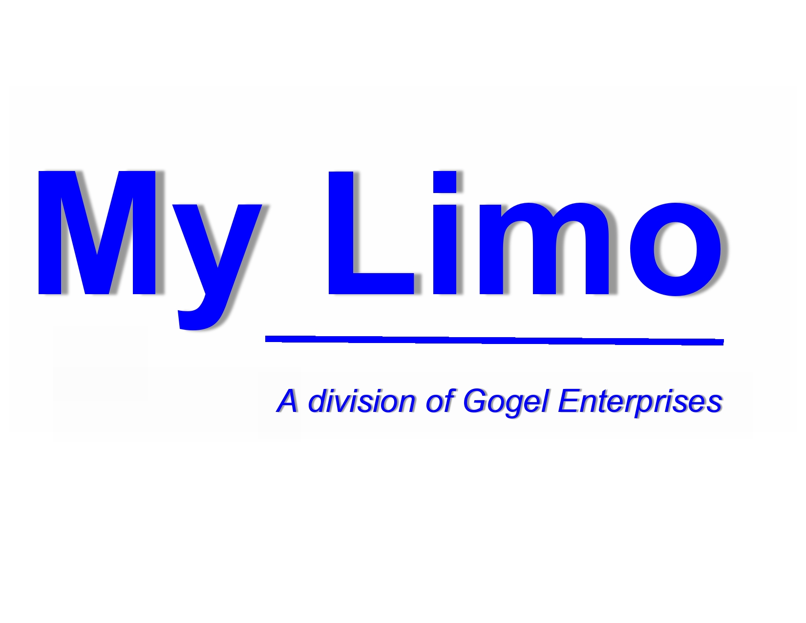 My Limo Logo Division of JPG