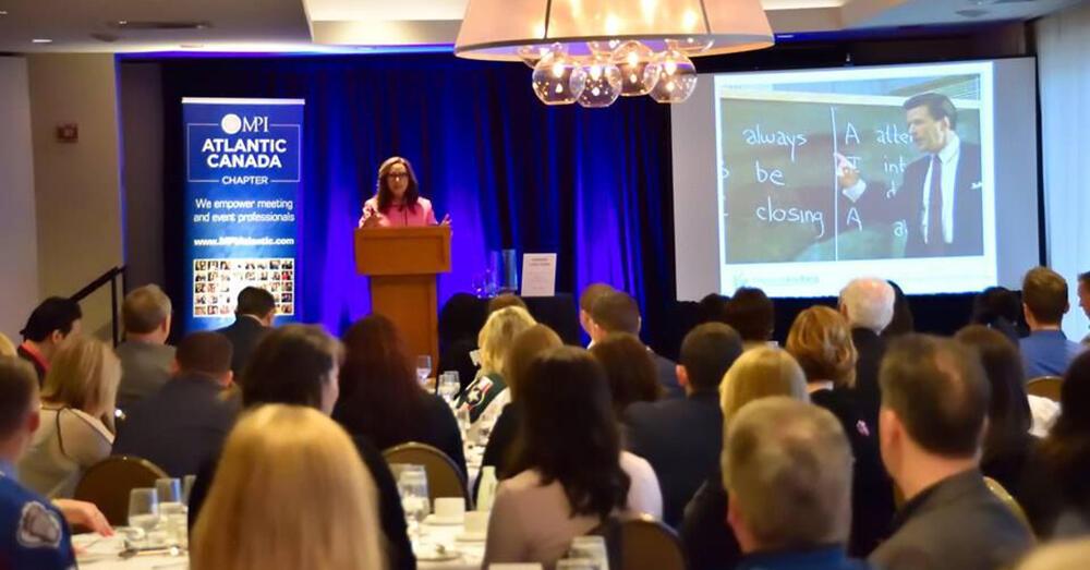 Grant Helps Atlantic Canada Chapter Attract Top Speaker